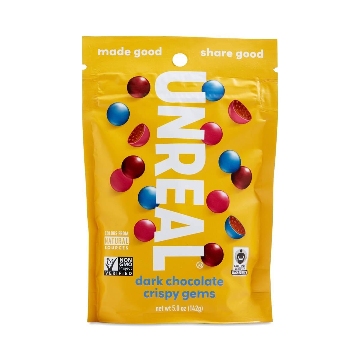 Dark Chocolate Crispy Quinoa Gems by Unreal - Thrive Market