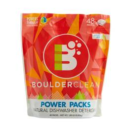 Natural Dishwasher Detergent Power Packs