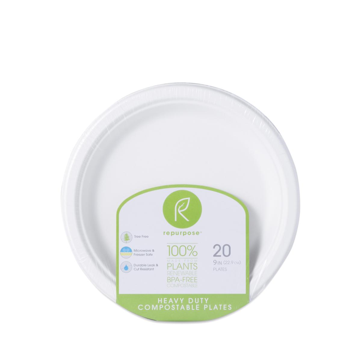sc 1 st  Thrive Market & 20 Ct. Heavy Duty Plates by Repurpose - Thrive Market