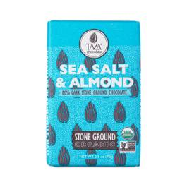 Organic Sea Salt & Almond Chocolate Bar