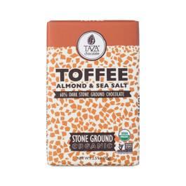 Organic Toffee Ground Chocolate Bar