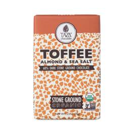 Organic Toffee Ground Chocolate Bar