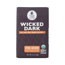 Organic Wicked Dark Ground Chocolate Bar