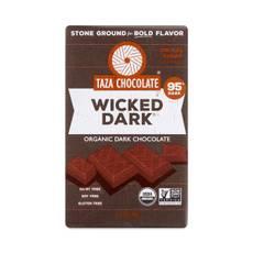 Organic Wicked Dark Ground Chocolate Bar