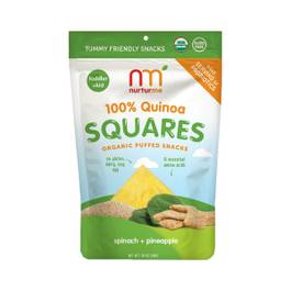 Quinoa Squares Pineapple + Spinach