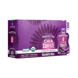 Chia Squeeze - Blackberry Bliss