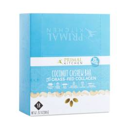 Coconut Cashew Collagen Bar, 12-Pack