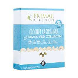 Coconut Cashew Collagen Bar, 6-Pack