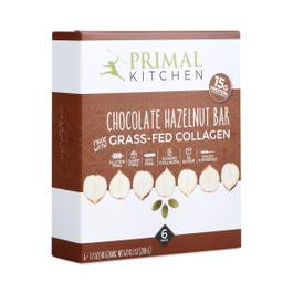 Chocolate Hazelnut Grass-Fed Collagen Bar, 6-Pack