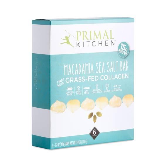 Primal Kitchen Macadamia Sea Salt Bar