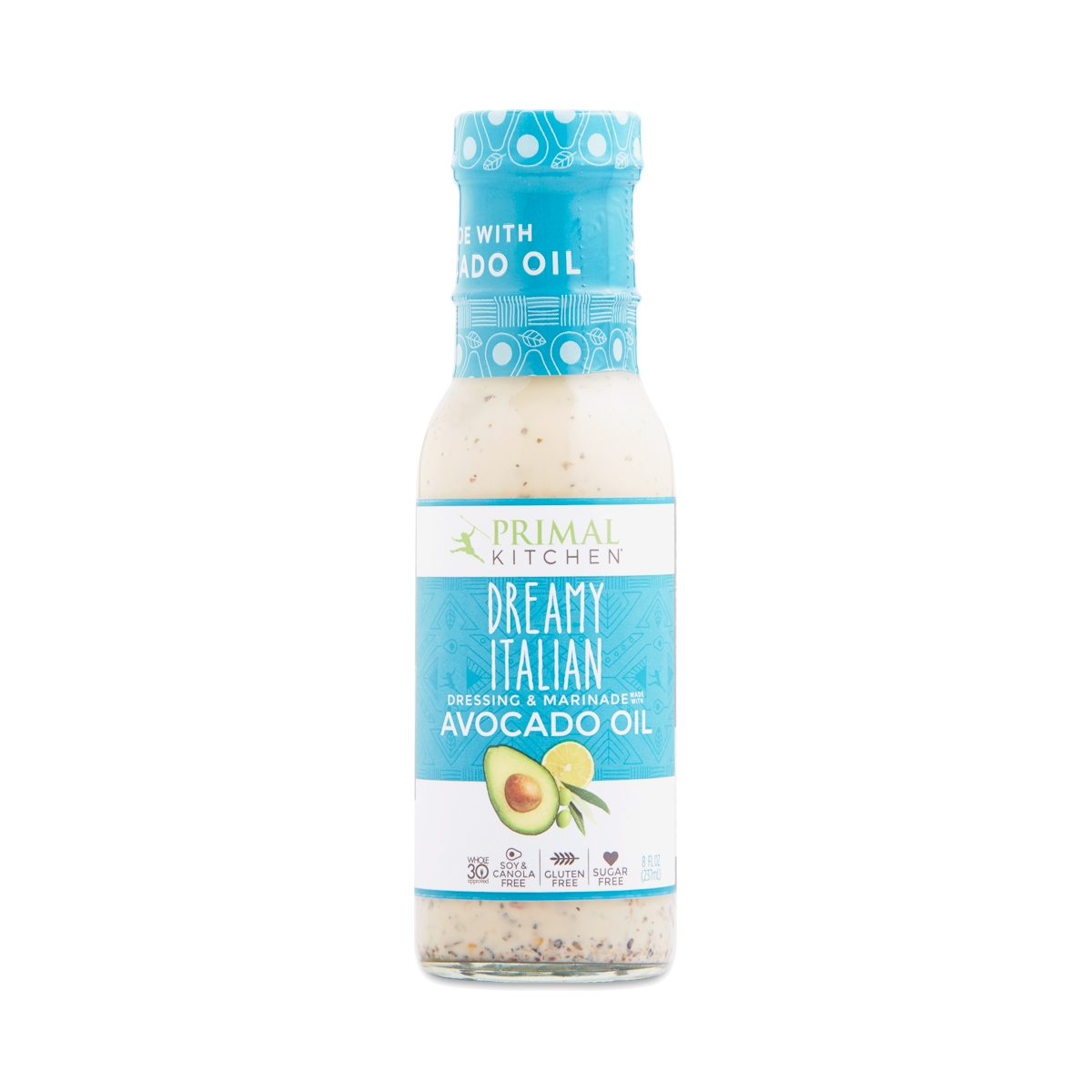 Primal Kitchen Dreamy Italian Vinaigrette & Marinade with Avocado ...