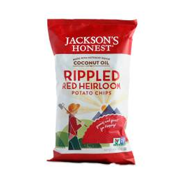 Rippled Red Heirloom Potato Chips