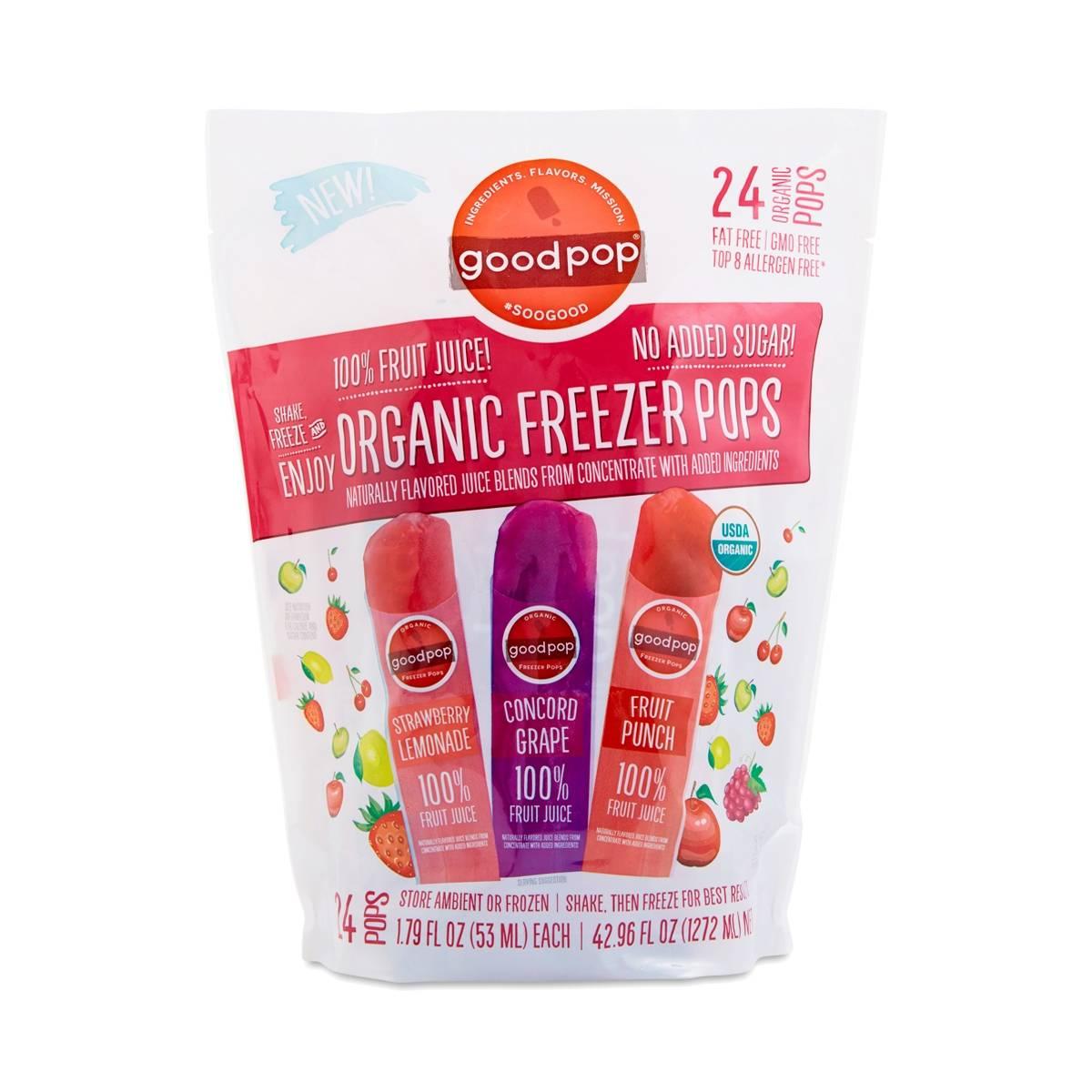 Organic Freezer Pops by GoodPop - Thrive Market