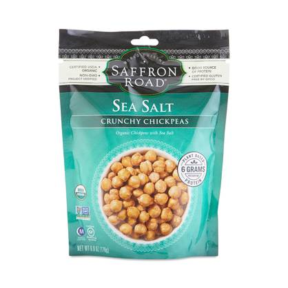 Sea Salt Crunchy Chickpeas