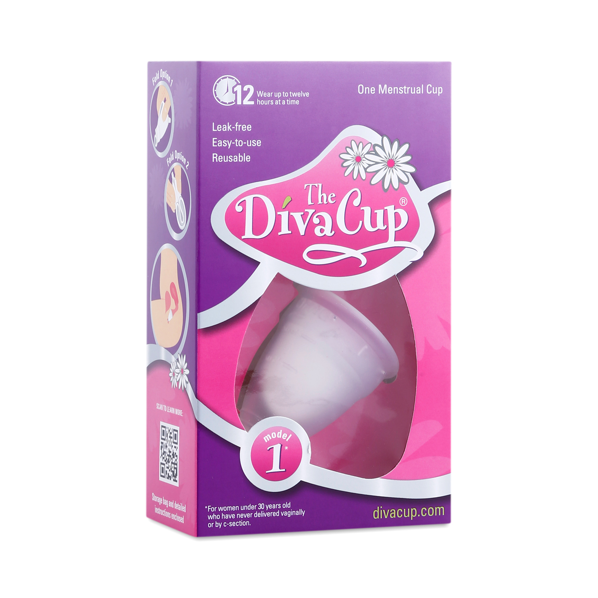 Diva cup model 1 pre childbirth menstrual cup thrive market for A diva cup