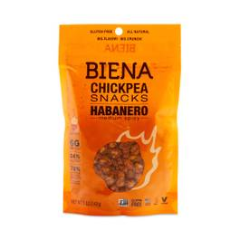 Habanero Chickpea Snacks