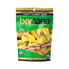 Organic Peanut Butter Chewy Banana Bites
