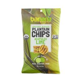 Ridged Plantain Chips, Acapulco Lime