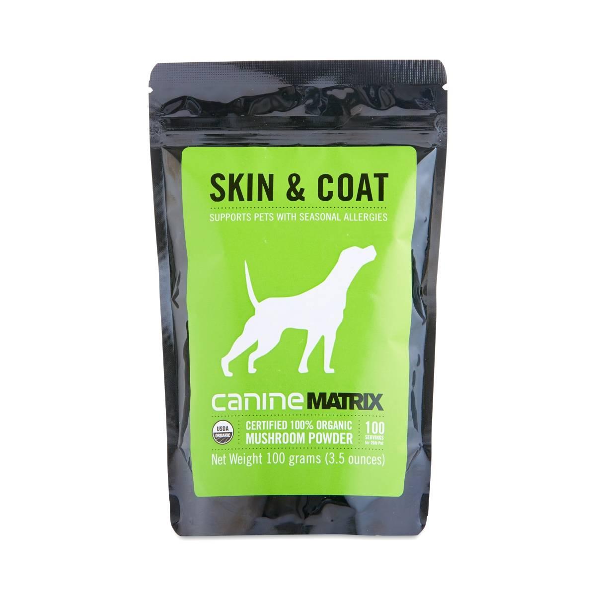 Canine Matrix Skin Amp Coat Mushroom Powder Thrive Market