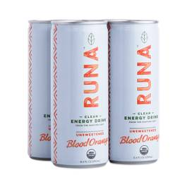 Organic Guayusa Energy Drink, Blood Orange, 4-pack