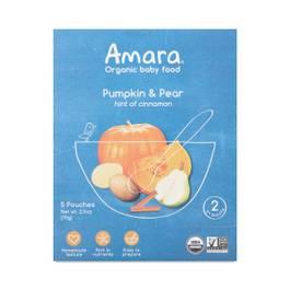 Pumpkin & Pear Baby Food