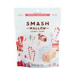 Candy Cane Snackable Marshmallows