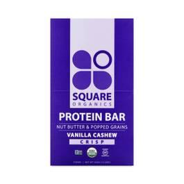 Vanilla Cashew Crisp Organic Protein Bar