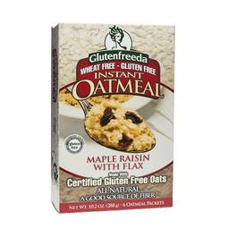 Maple Raisin with Flax Instant Oatmeal