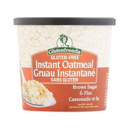 Instant Oatmeal Cup, Brown Sugar & Flax