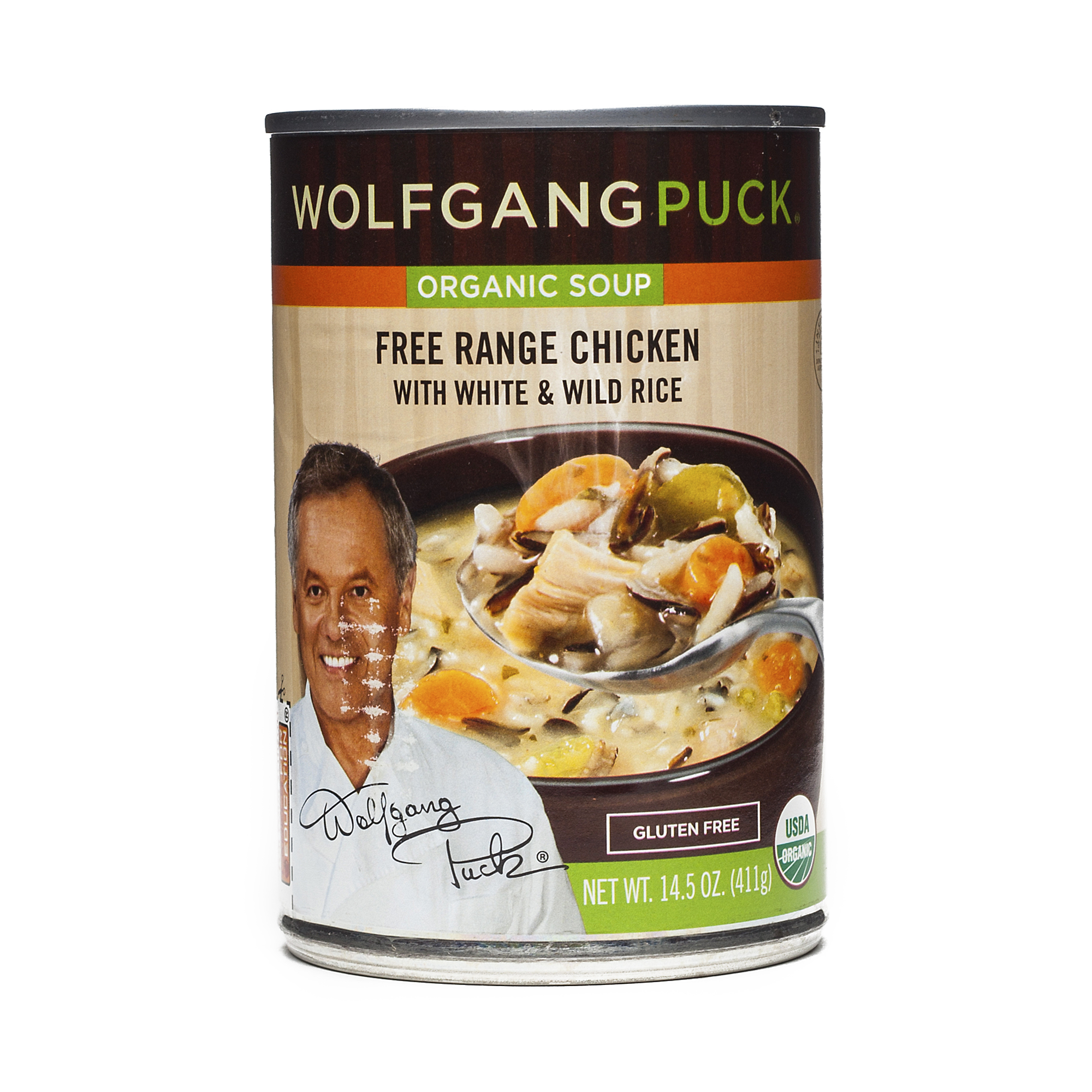 Wolfgang Puck Organic Soup - Chicken with White and Wild ...