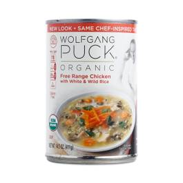 Organic Chicken Soup with White & Wild Rice