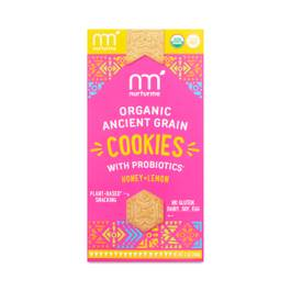 Ancient Grain Cookies with Probiotics, Lemon & Honey