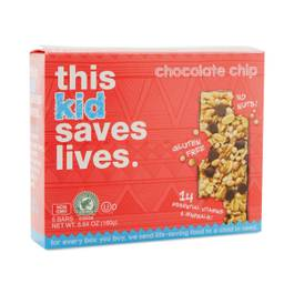 Kid's Chocolate Chip Bars