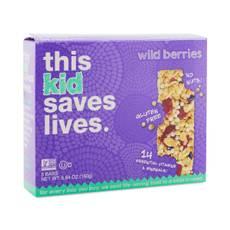 Kid's Wild Berry Bars