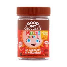 Milk Chocolate Multivitamin Supplement for Kids