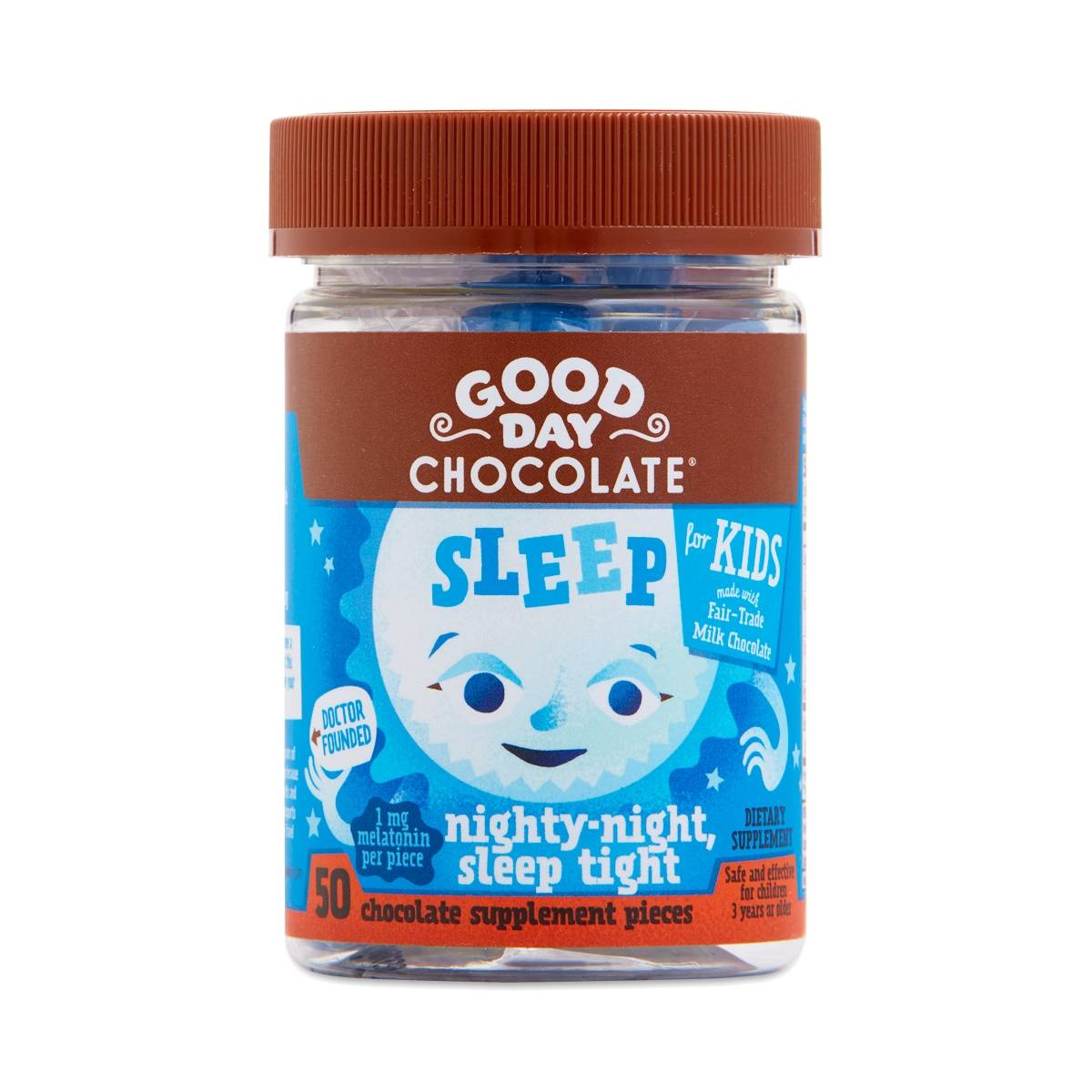 Good Day Chocolate Milk Chocolate Sleep Supplement for Kids - Thrive Market