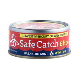 Canned Wild Tuna, Habanero Mint