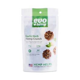 Garlic Herb Hemp Crunch