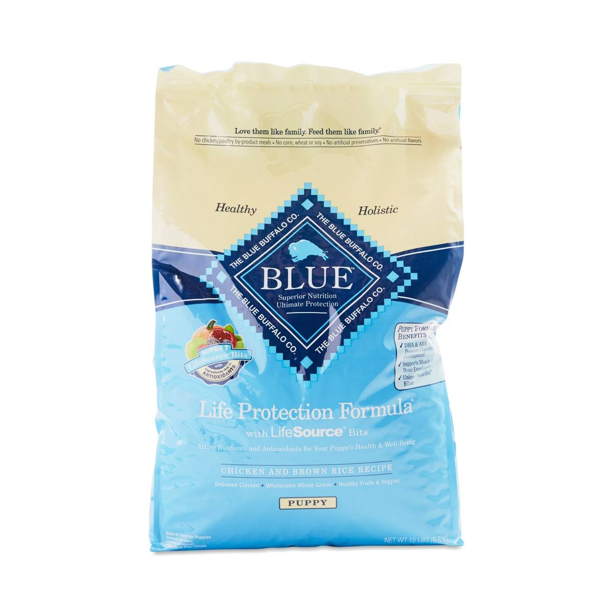 Life protection formula puppy chicken brown rice recipe for Blue buffalo fish and brown rice
