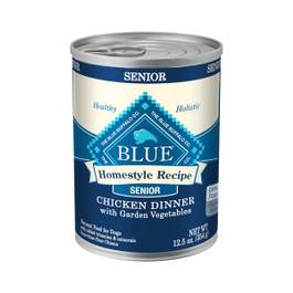 Blue Homestyle Recipe Chicken and Vegetable Senior Dog Food
