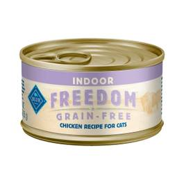 Blue Freedom Grain-Free Indoor Adult Cat Food, Chicken Recipe