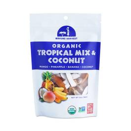 Organic Dried Tropical Mix & Coconut