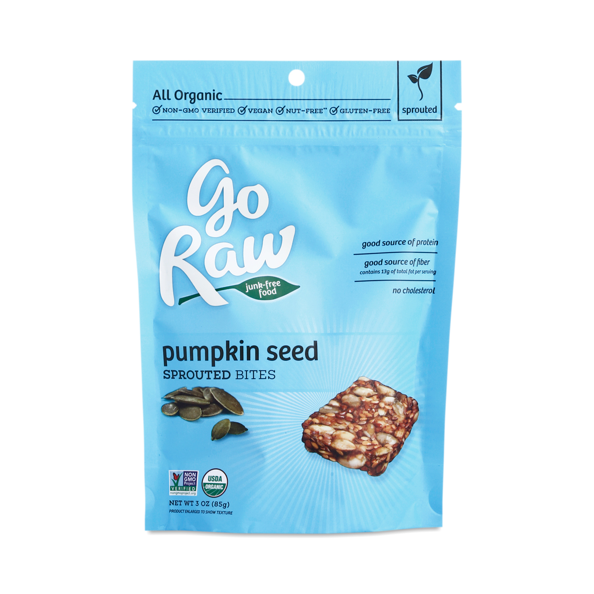 Pumpkin Seed Organic Sprouted Bites by Go Raw - Thrive Market