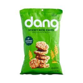 Coconut Crunch Sticky Rice Chips