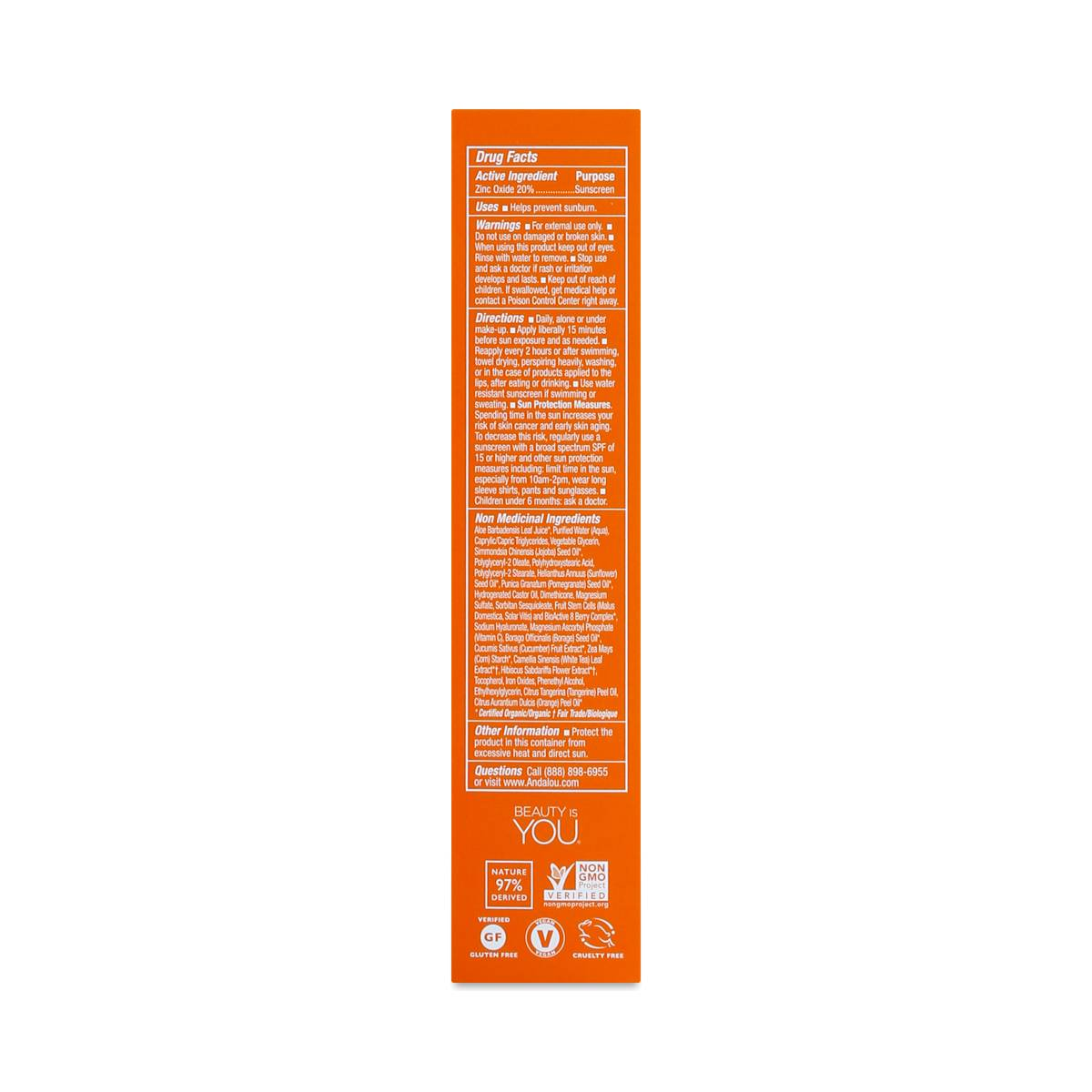 Andalou Naturals Vitamin C Bb Beauty Balm Sheer Tint