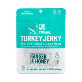 Ginger & Honey Turkey Jerky
