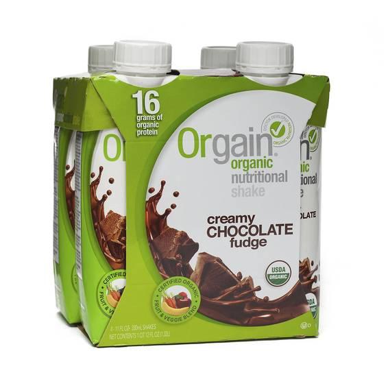 Organic Nutritional Shake - Creamy Chocolate Fudge