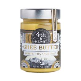 Grass Fed White Truffle Salt Ghee