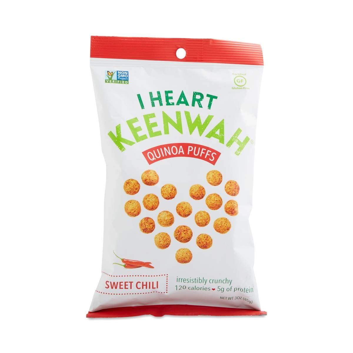 I Heart Keenwah Sweet Chili Quinoa Puffs - Thrive Market