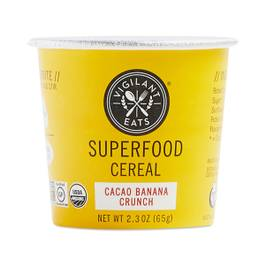 Cacao Banana Crunch Superfood Hot Cereal